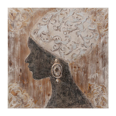 Radiance II Wooden Plaque