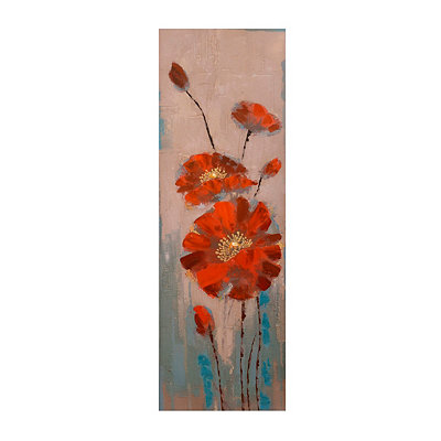 Red Blossoms Canvas Art Print