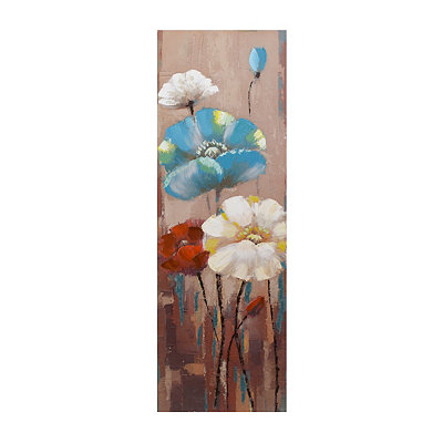 Gleeful Garden Canvas Art Print