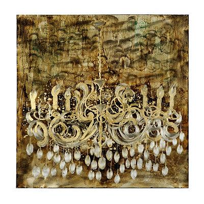 Gold Illuminate Canvas Art Print