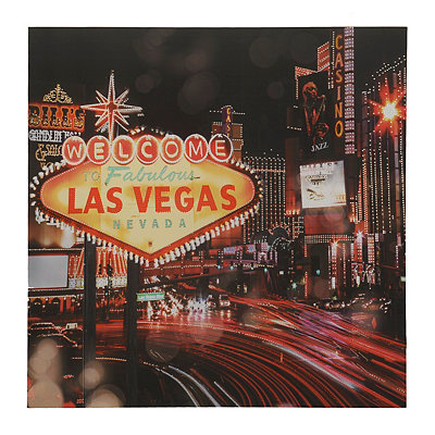 Welcome To Las Vegas Canvas Art Print