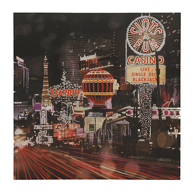 Las Vegas Strip Canvas Art Print