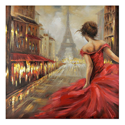 Pursuit of Romance Canvas Art Print