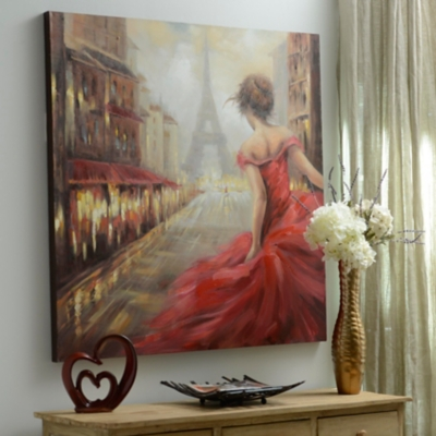Pursuit of Romance Canvas Art