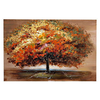 Autumn Impact Canvas Art Print
