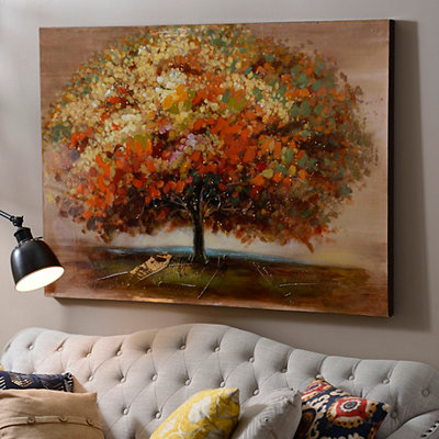 Autumn Impact Canvas Art