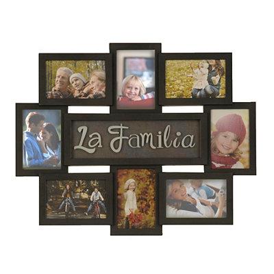 La Familia 8-Opening Collage Frame