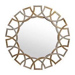 Antique Gold and Silver Jaxson Mirror