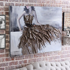 Graceful Dress Canvas Art