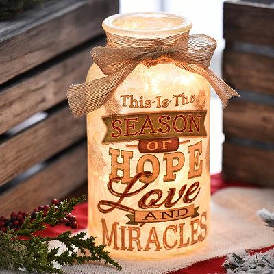 Pre-Lit Season of Hope Jar