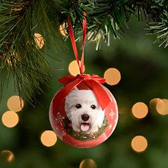 Shatterproof Westie Ornament
