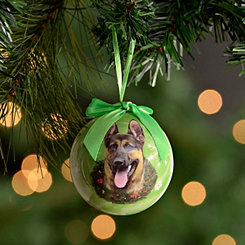 Shatterproof German Shepherd Ornament