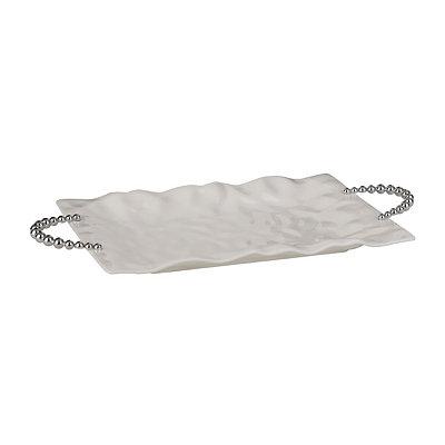 White Origami Platter