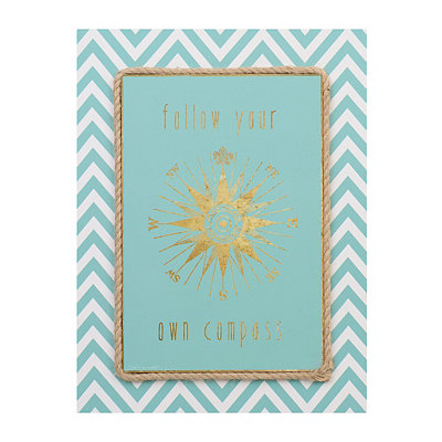 Follow Your Own Compass Canvas Art Print