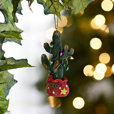 Christmas Cactus Ornament