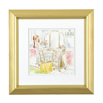 Modern Dressing Room I Framed Art Print