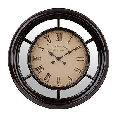 Tortoise Mirrored Clock