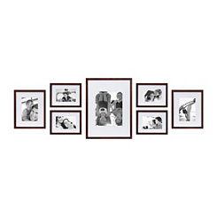 Walnut 7-pc. Gallery Picture Frame Set