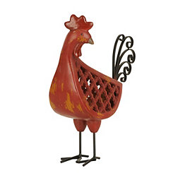 Red Rooster Figurine