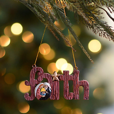 Faith and the Family Ornament