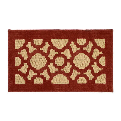 Corsica Red Scatter Rug