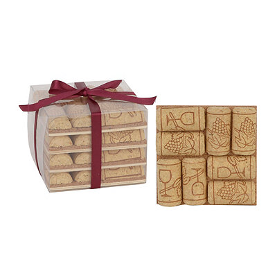 Wine Cork Coasters, Set of 4