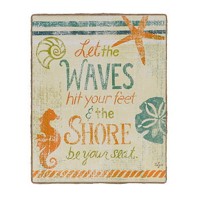 Shore be Your Seat Canvas Art Print