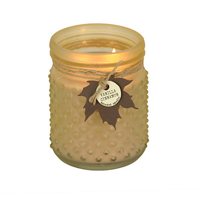 Vanilla Cinnamon Hobnail Jar Candle