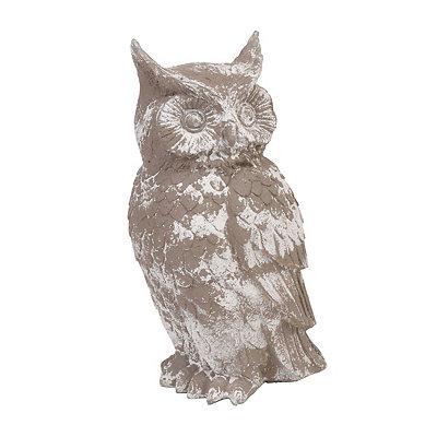 Screech Owl Outdoor Statue