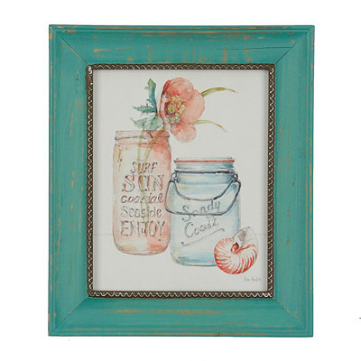 Sea Finds I Framed Art Print