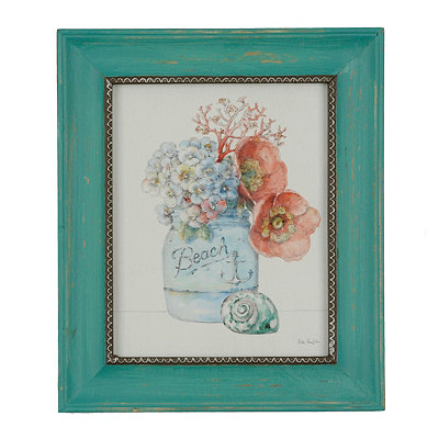 Sea Finds II Framed Art Print