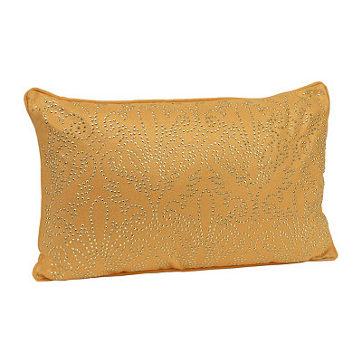 Yellow Studded Juliana Accent Pillow