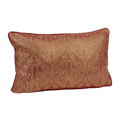 Red Studded Juliana Accent Pillow