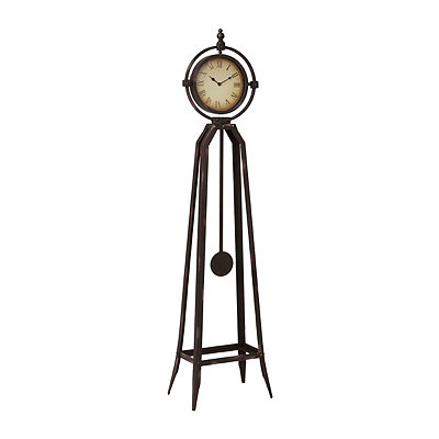 Bronze Chateau Floor Clock