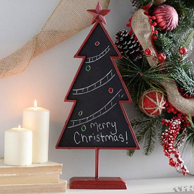 Red Chalkboard Tree
