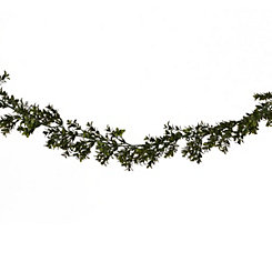 Deluxe Boxwood Garland, 6ft.