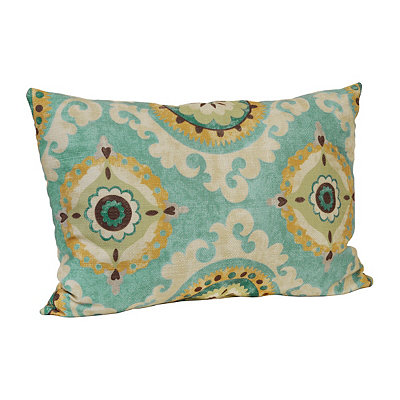 Green Valerie Accent Pillow