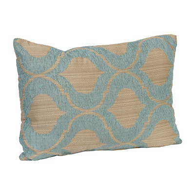 Aqua Vanness Accent Pillow