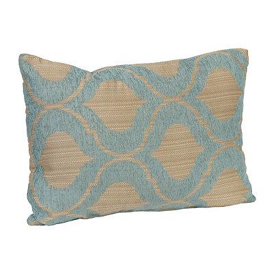 Aqua Vanness Accent Pillow