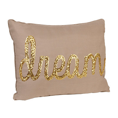 Taupe Dream Accent Pillow