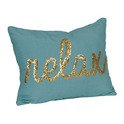 Turquoise Relax Accent Pillow