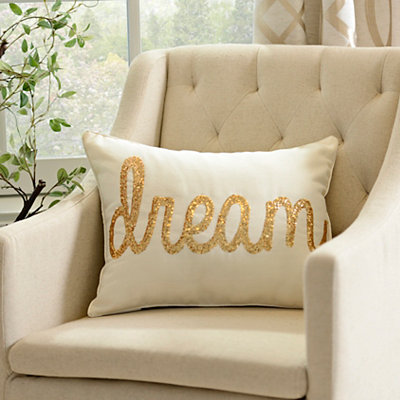 Ivory Dream Accent Pillow