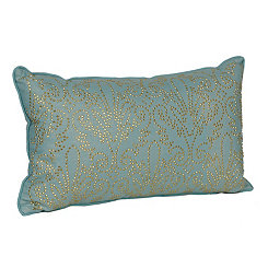 Aqua Studded Juliana Accent Pillow