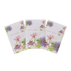 Passion Flower Sachets, 3-pack