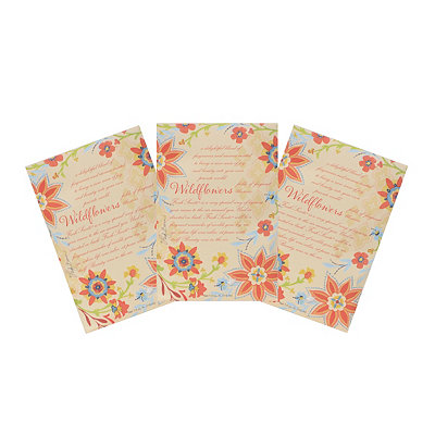 Wildflowers Sachets, 3-pack
