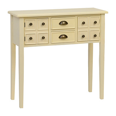 Marshall Ivory Console Table