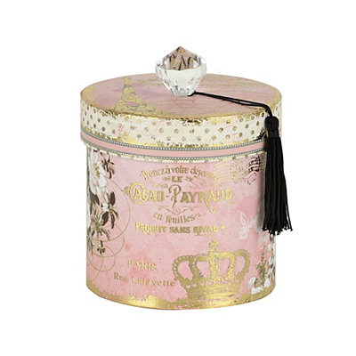 Printed Pink Beauty Toilet Paper Holder