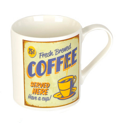 Fresh Brewed Coffee Mug