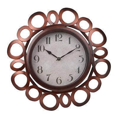 Bronze Loop Clock