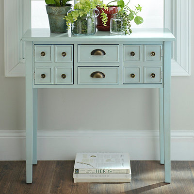 Marshall Soft Blue Console Table